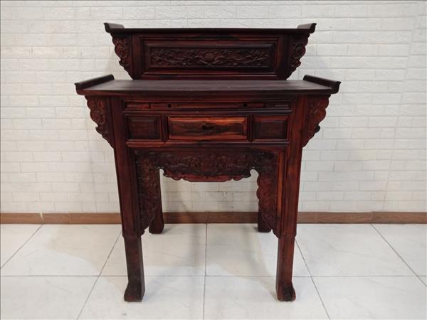 Bàn thờ gỗ Muồng đen cũ SP011278