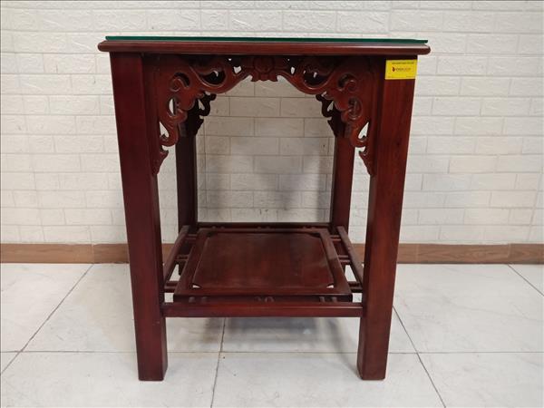 Bàn trang trí gỗ Xoan đào cũ SP011191