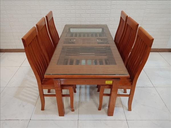 Bộ bàn ăn gỗ Sồi SP011134