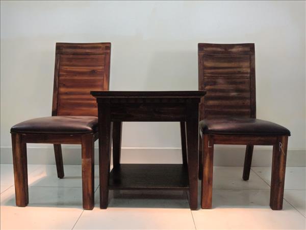 Bộ bàn trà gỗ tự nhiên cũ SP011437