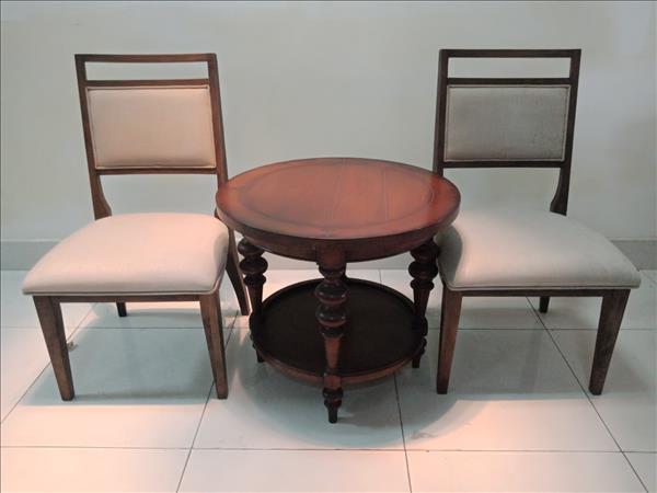 Bộ bàn trà gỗ tự nhiên cũ SP011477