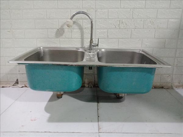 Bồn rửa inox cũ SP011229