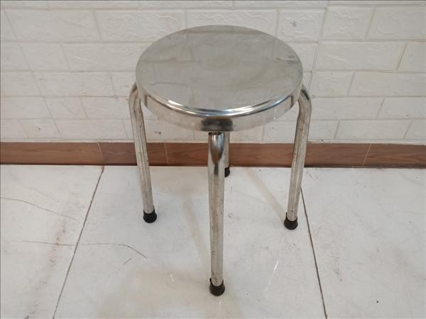 Ghế bàn ăn inox cũ SP011165