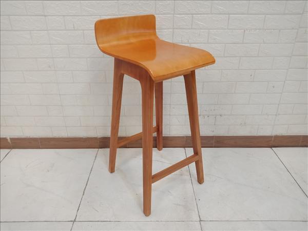 Ghế bar gỗ cao su SP011192