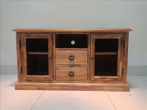 Kệ tivi gỗ tự nhiên SP011709
