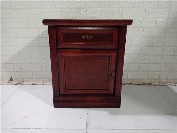 Tab đầu giường gỗ thông cũ SP011226.1