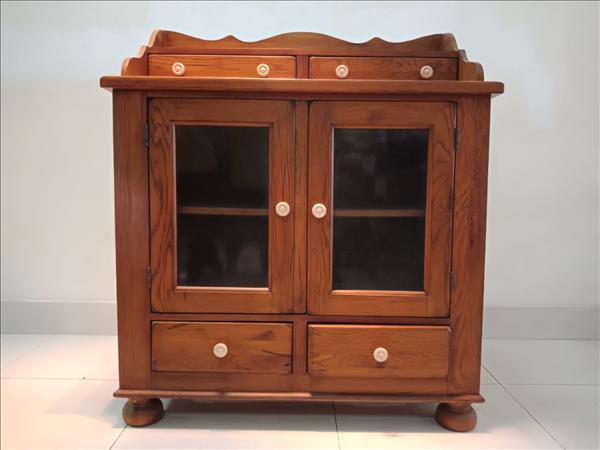 Tủ chén gỗ tự nhiên SP011641