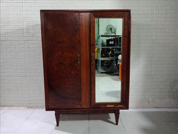 Tủ quần áo gỗ Gõ đỏ cũ SP011253