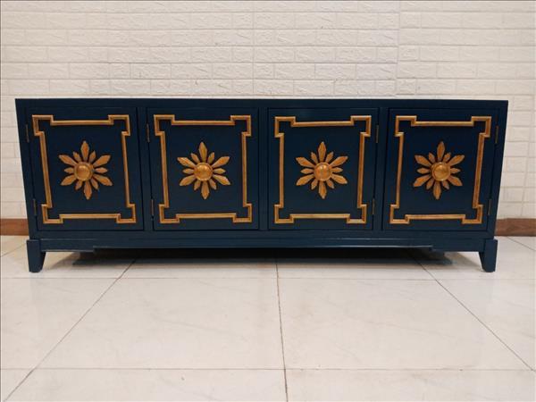 Tủ tivi gỗ cao su mới 100% SP011263