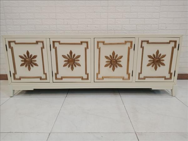 Tủ tivi gỗ cao su mới 100% SP011264