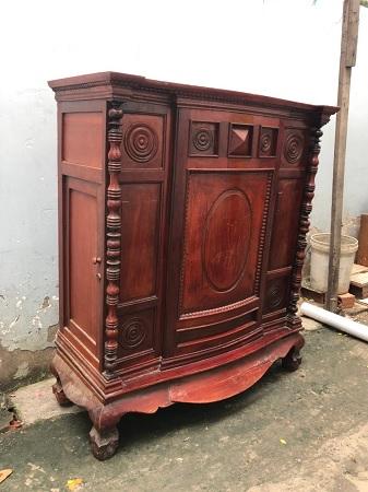 Tủ thờ gỗ tự nhiên cũ SP014850