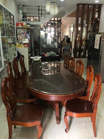 Bộ bàn ăn cũ SP014851