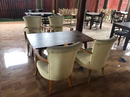 Bộ sofa cafe cũ SP014876