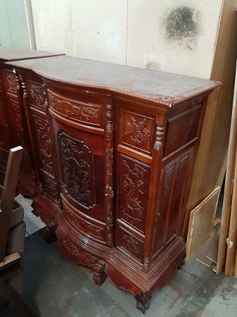 Tủ thờ gỗ Tràm cũ SP014967