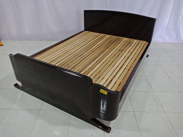 Giường gỗ Gõ đỏ cũ SP006612
