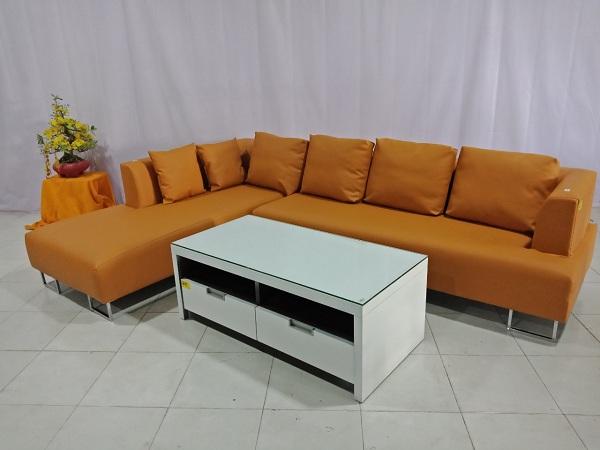 Bộ sofa góc cũ SP006640