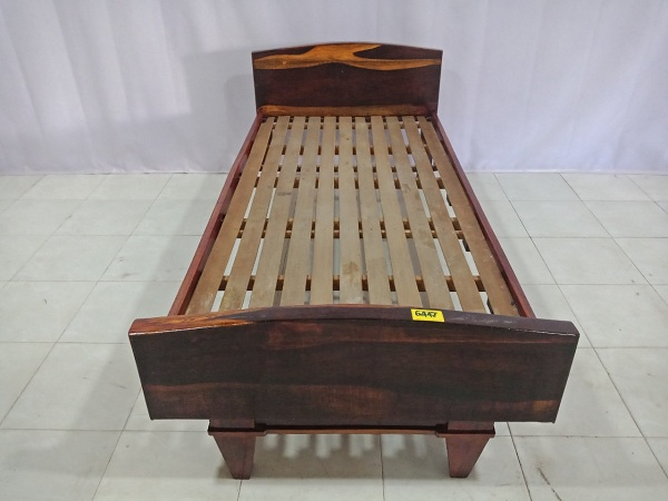 Giường gỗ Cẩm cũ SP006447