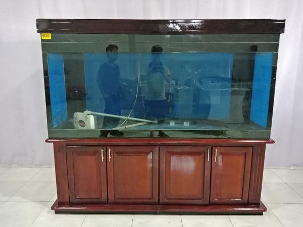Tủ hồ cá bằng gỗ Ván Hương cũ SP006702
