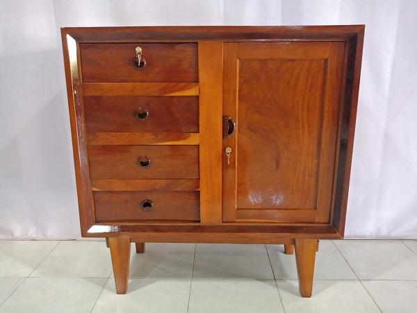 Thanh lý Tủ quần áo commost cũ chất liệu gỗ Hương - 6600