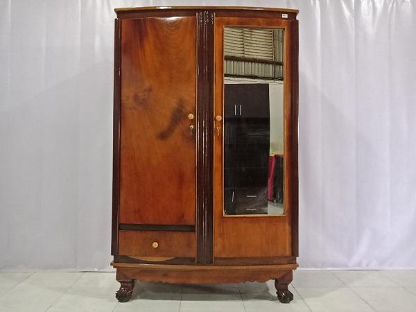 Thanh lý Tủ quần áo gỗ Gõ đỏ cũ chất lượng tốt, giá rẻ - 6374