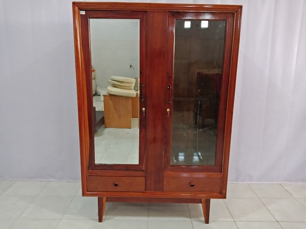 Tủ quần áo gỗ Gõ đỏ cũ SP006428