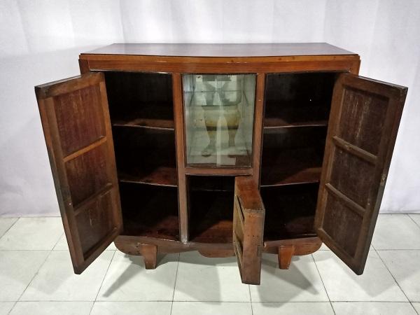 Tủ búp phê gỗ Gõ đỏ cũ SP006608