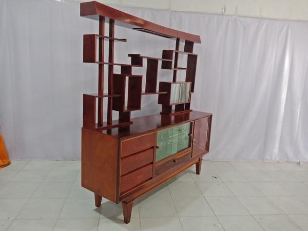 Tủ búp phê gỗ Gõ đỏ cũ SP006705