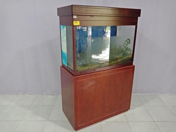 Tủ hồ cá thủy sinh bằng gỗ cũ SP006312