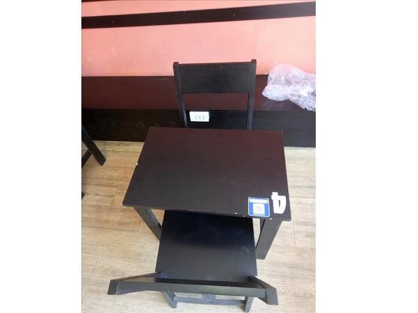 Bộ bàn cafe gỗ tự nhiên SP011960