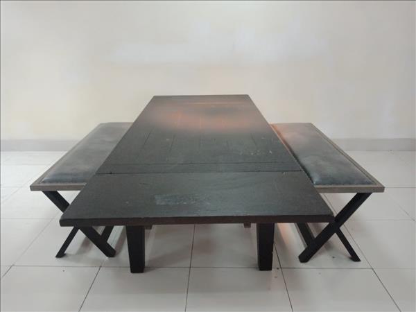 Bộ bàn ăn gỗ tự nhiên SP011823