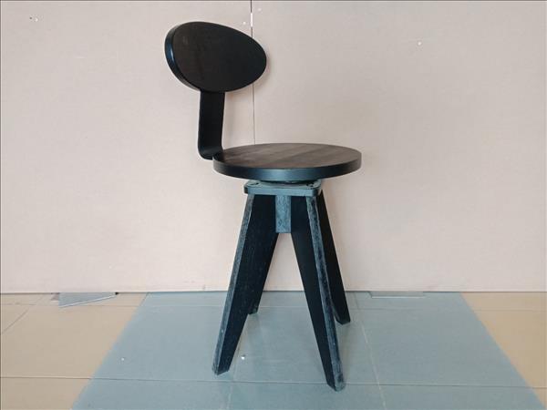 Ghế bar gỗ cao su SP012086