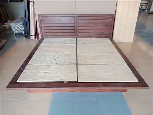 Giường gỗ tự nhiên SP012090