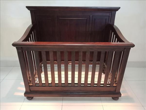 Nôi em bé gỗ tự nhiên SP011798