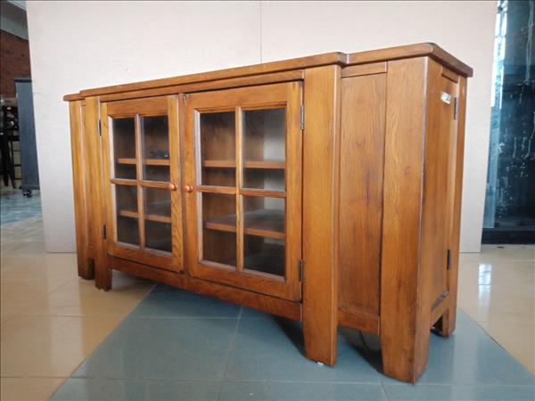 Tủ  bếp gỗ tự nhiên SP011936
