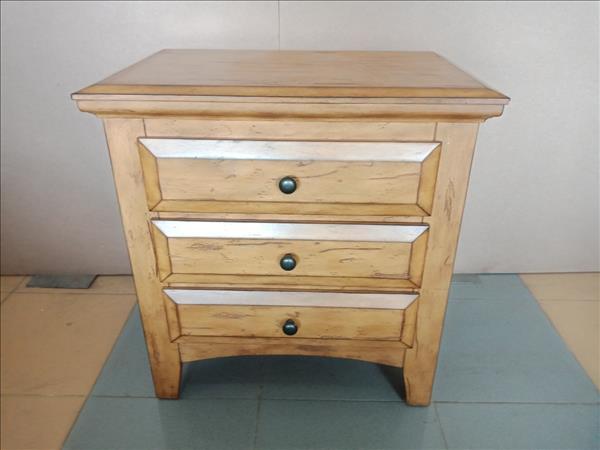 Tủ đầu giường gỗ tự nhiên SP011938