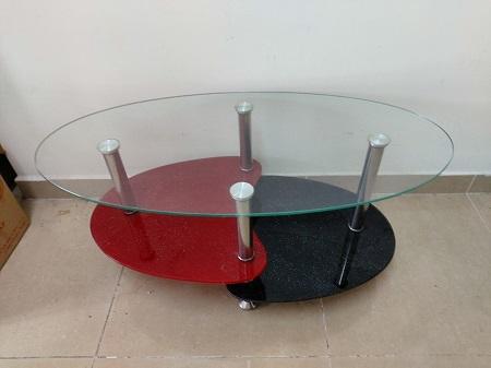 Bàn sofa kính cũ SP015148