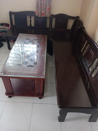 Bộ sofa gỗ tự nhiên SP015075