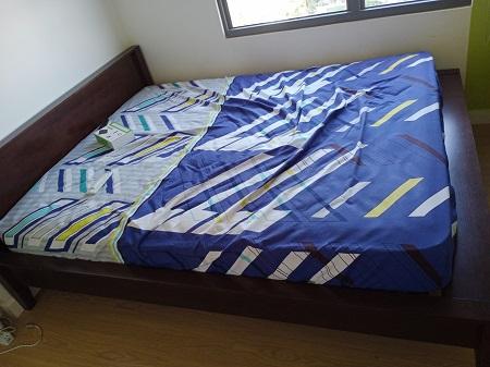 Giường  gỗ MDF cũ SP015057.1
