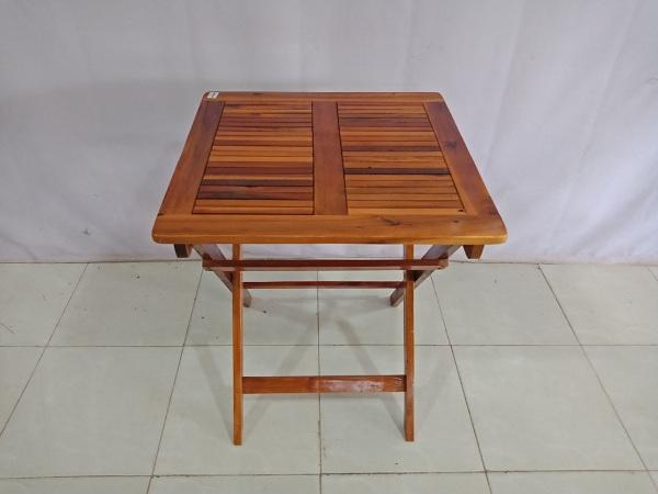 Bàn cafe gỗ cũ SP006871