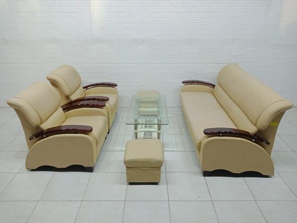 Bộ sofa da cao cấp cũ SP006910