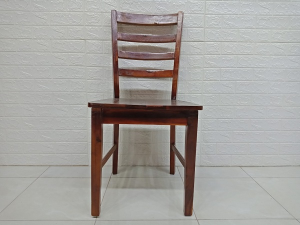 Ghế ăn gỗ cao su cũ SP006865