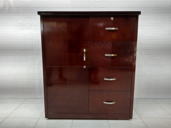 Tủ quần áo commost gỗ công nghiệp cũ SP006905