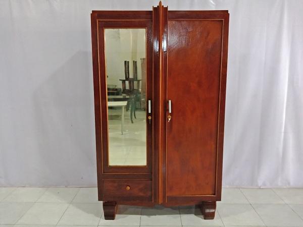 Tủ quần áo gỗ Gõ đỏ cũ SP006823