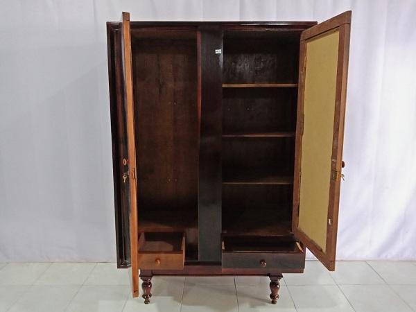 Tủ quần áo gỗ Gõ đỏ + Cẩm cũ SP006779
