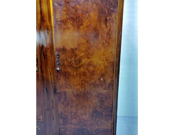 Tủ quần áo gỗ Gõ đỏ cũ SP006880