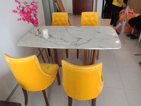 Bộ bàn ăn cũ SP012344