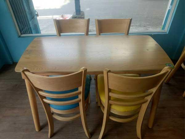 Bộ bàn ăn cũ SP012370