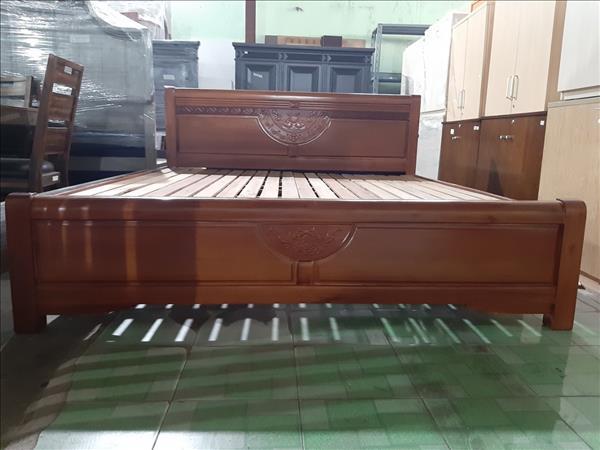 Giường gỗ Sồi SP012122