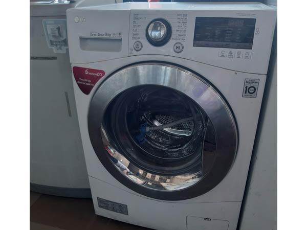 Máy giặt LG 8 kg F1208NPRW cũ
