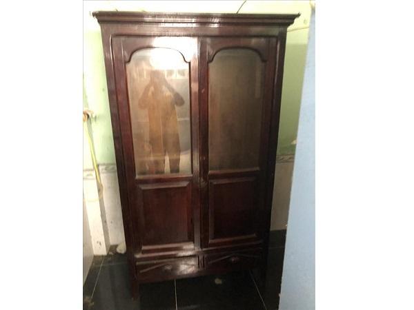 Tủ quần áo gỗ tự nhiên SP012123